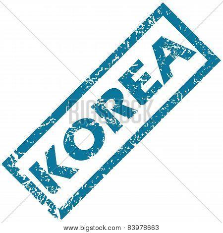 Korea rubber stamp