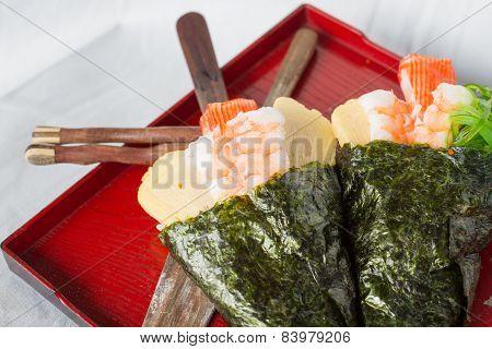 Temaki Sushi Cone