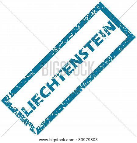 Liechtenstein rubber stamp