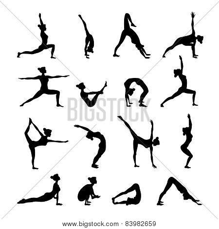 Yoga Set Black