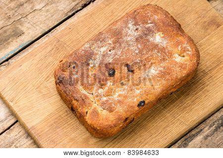 Loaf Of Unleavened Wheat Bread
