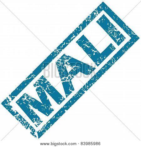 Mali rubber stamp