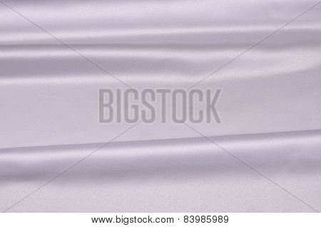 White fabric.