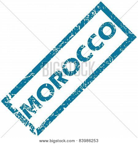 Morocco rubber stamp