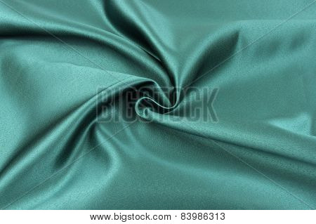 Green cloth.