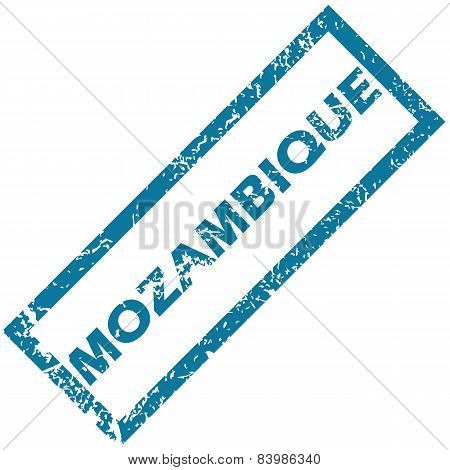 Mozambique rubber stamp