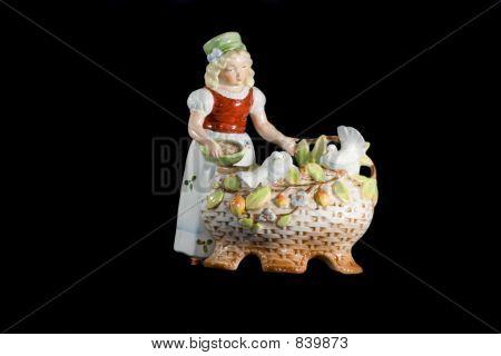 porcelain statuette