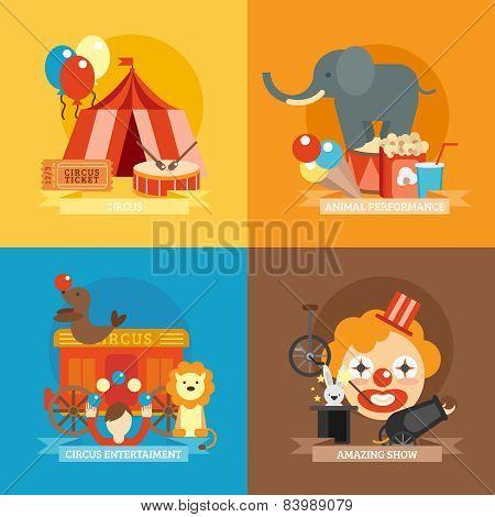 Circus Flat Set