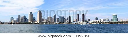 San Diego Skyline Downtown Panorama