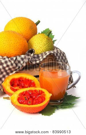 Gac Fruit, Baby Jackfruit With Juice