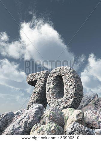 Number Seventy Rock