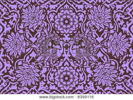 Lilac Decorative Pattern