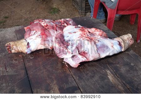 Pig Raw Legs