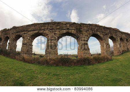 Ancient Acqueduct Ruins