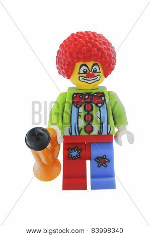 Circus Clown Lego Minifigure