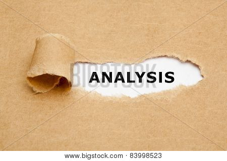 Analysis Torn Paper Concept
