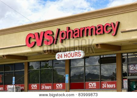 Cvs Pharmacy Storefront