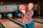 image of bowling ball  - My lucky ball - JPG