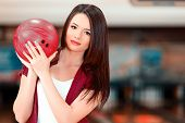 stock photo of bowling ball  - My lucky ball - JPG