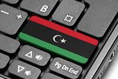 stock photo of libya  - Go to Libya concept - JPG