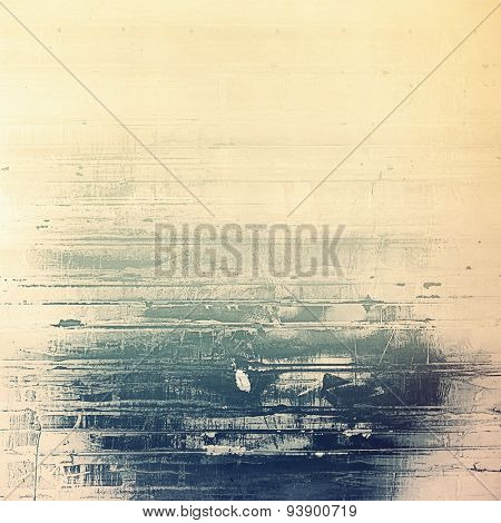 Retro background with grunge texture. With different color patterns: yellow (beige); brown; gray; blue