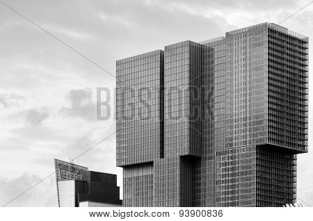 Rotterdam, Netherlands - May 9, 2015: Modern Architecture In Rotterdam