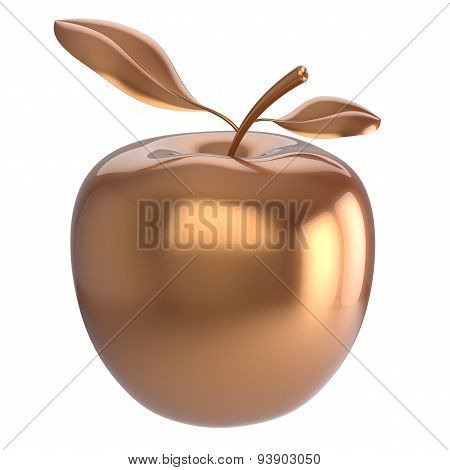 Golden Apple Fruit Gold Yellow Nutrition Antioxidant Fresh Icon