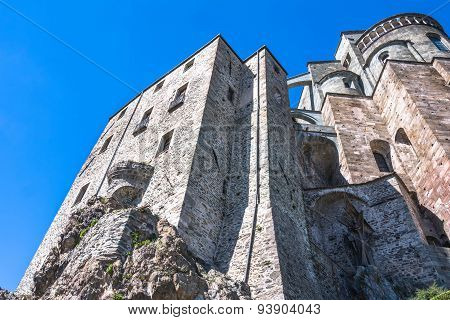 The Sacra di San Michele, Italy