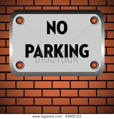 No parking area