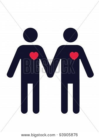 Gay Couple.