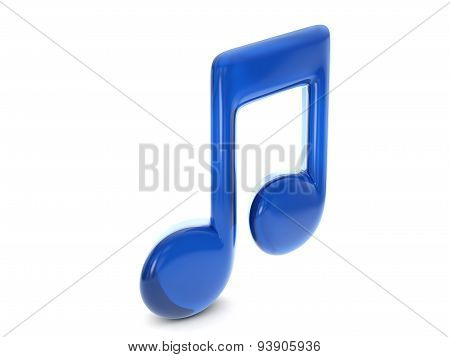 Balloon Music Note Symbol