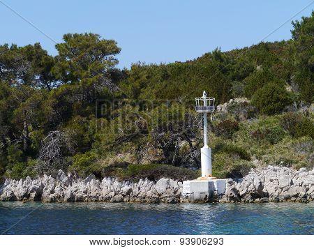Sv Petar island in Croatia