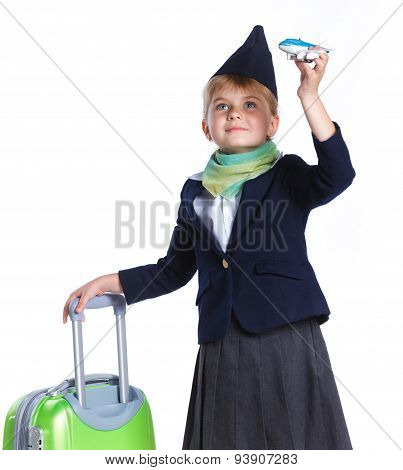 Little stewardess