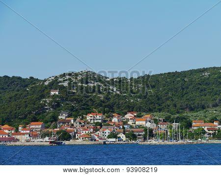 The village Tkon on the island Pasman