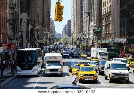 8th Avenue in Manhattan