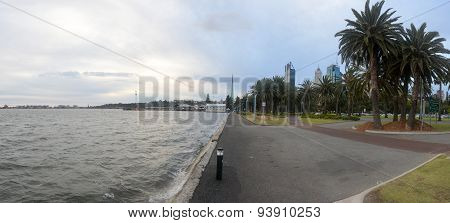 Perth Australia, Pedestrian Walkway