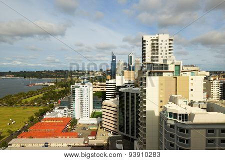 Perth Skyline View