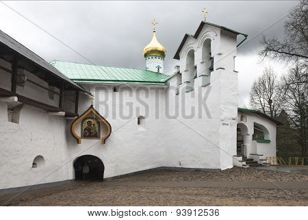 St. Nicholas Church Of The Pskov-caves Monastery.