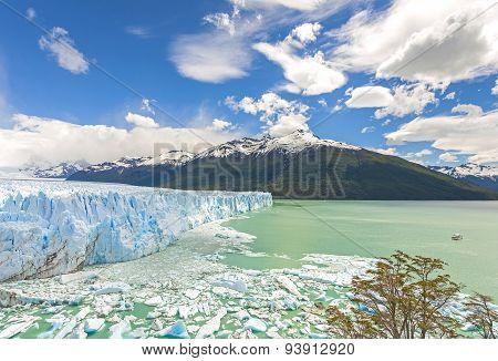 Perito Moreno Glacier In Argentina.