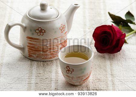 Tea And Rose