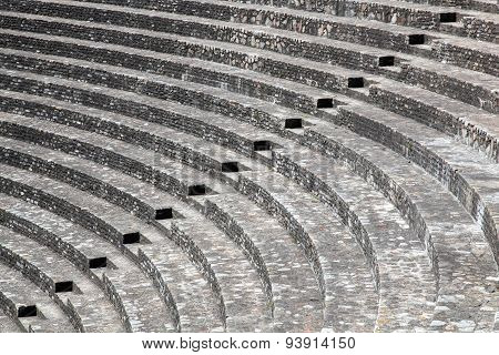 Ancient roman theater of Fourviere in Lyon
