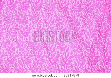 Pink Fabric Of A Dress - Structure