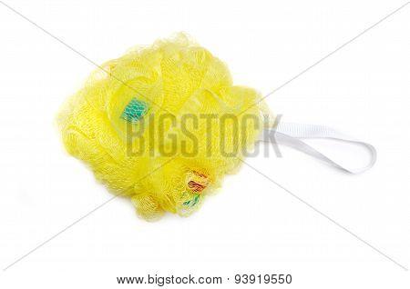 Yellow Massage Bath Sponge