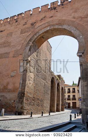 Puerta Elvira In Granada
