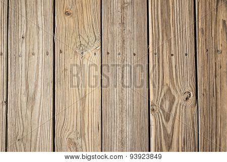 Close Up Of Decking