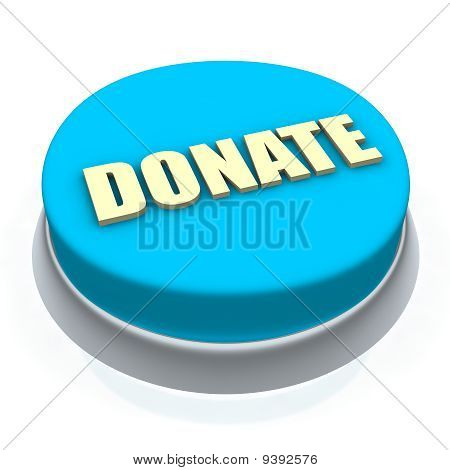 Donate round button