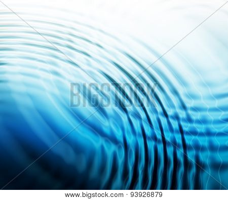 abstract water ripples background, blue waves