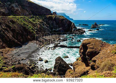 Coast Or Shore Of Atlantic Ocean