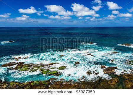 Stone Coast Of Atlantic Ocean