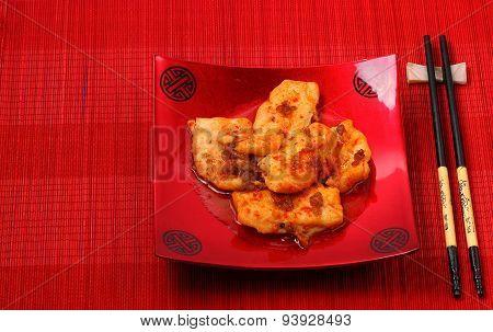 Sirchuan Style Stir Fried Fish